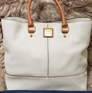 Dooney and Bourke White Chelsea Tote
